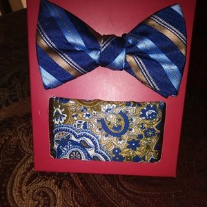 Other - Men's Bow-Tie and Pocket Square Set